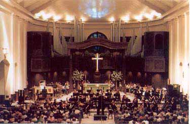 A concert performance at Saint George's, Nashville.