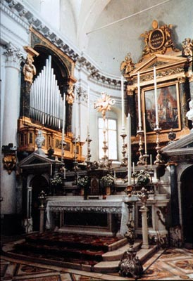 Borbone Ducal Chapel with Serassi organ