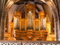 the 1985 Pirchner organ in the gallery of the Parish Church in Perchtoldsdorf.