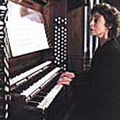 [Carole Terry & the Watjen Concert Organ by C.B. Fisk, Opus 114.]